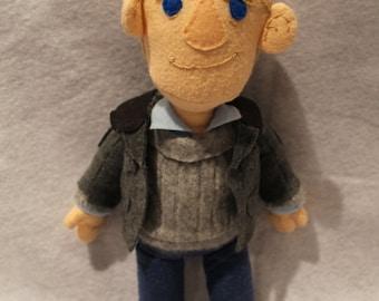 John Watson BBC Sherlock Plush toy
