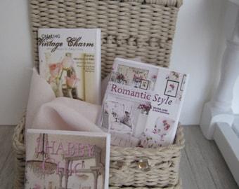 1:12 Dollhouse Magazines- 1 inch scale miniatures MAGAZINE.