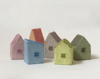 Little City - Set of 6 Little Houses