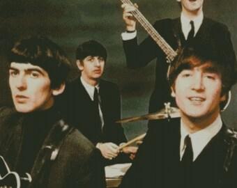 The Beatles Cross Stitch Pattern 002
