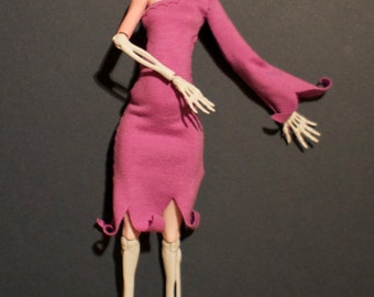 Monster High Kleidung witches dress violet