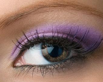 """Shimmery Purple Violet Eyeshadow - """"Lulu"""" - Vegan Mineral Eyeshadow Net Wt 2g Mineral Makeup Eye Color Pigment"""
