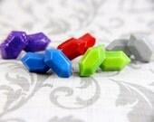 Legend of Zelda rupee earrings- Choose your color