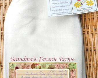 Custom family Recipe  Flour Sack Towel