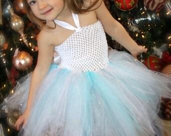 Snowflake Fairy Set sizes Newborn, 3m, 6m, 9m, 12m, 18m, 2t, 3t, 4t, 5t, 6