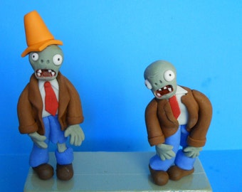 Plant vs Zombie 3D Cake Toppers