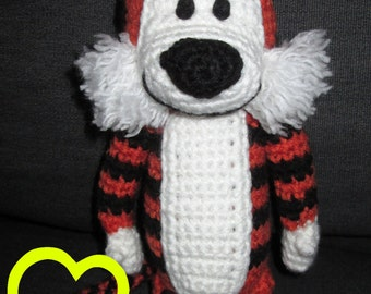 PATTERN: Crochet Calvin & Hobbes - Hobbes Amigurumi