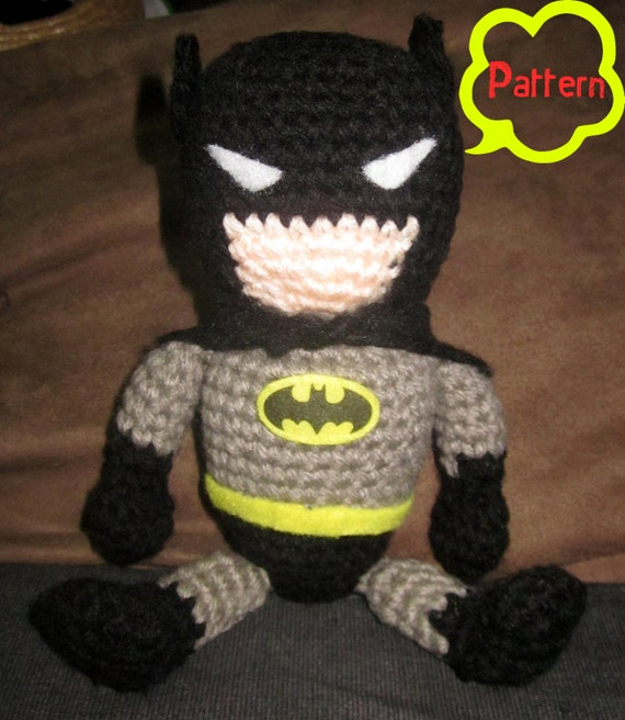 Pattern: Crochet Batman Amigurumi