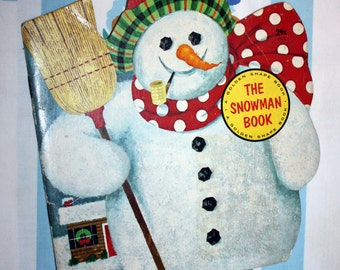 The Snowman Book, 1965 Golden Shape Book