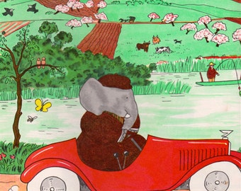 Babar's Anniversary Album (6 Favorite Books) by Jean and Laurent de Brunhoff, introduction by Maurice Sendak