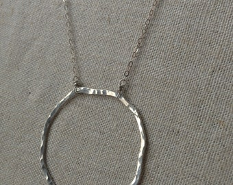 Organic Sterling Silver Necklace