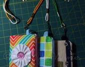 Water Resistant Lanyard Wallet Pouches