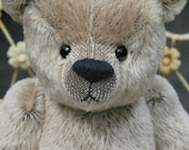 Frederick jointed teddy bear sewing pattern DOWNLOAD by Barbara-Ann Bears to make a traditional, centre seam bear