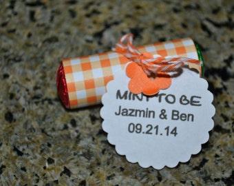 50 Mini Mint To Be Favors/Mint Favors/Favors/Wedding Favors/Mint Wedding Favors/Wedding/Mints