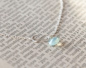 Tiny Infinity Necklace - Sterling Silver Infinity Jewelry