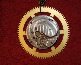Time Keeper - Steampunk Necklace