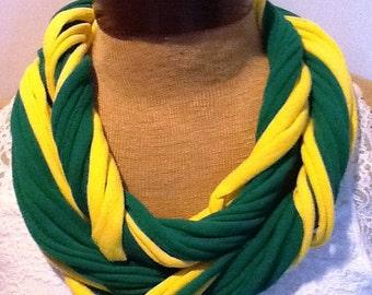 Portland Timbers  Scarf T Shirt Scarf  Infinity Scarf Belt -