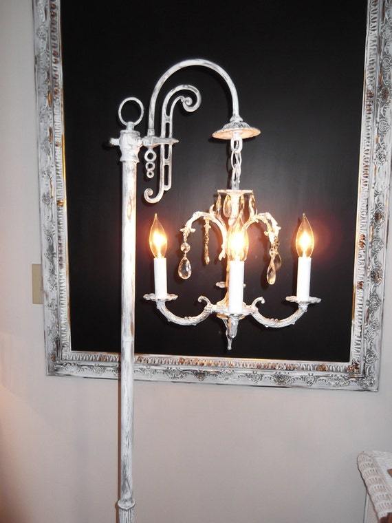 items similar to chandelier floor lamp made to order