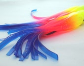 Latex Disco Squid Earrings (18cm) - Perfect for fashionistas & trendsetters!