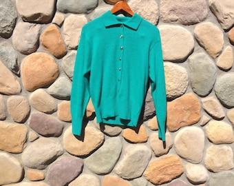Vintage Wool Sweater - SML Sport