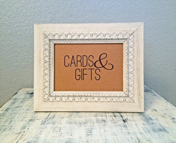Items Similar To 5x7 Cards Amp Gifts Sign