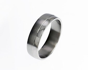 Palladium ring, wedding band, rings for men, mens wedding band, palladium wedding, modern, commitment ring, men palladium band