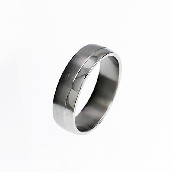 Palladium Ring Wedding Band Rings For Men Mens Wedding
