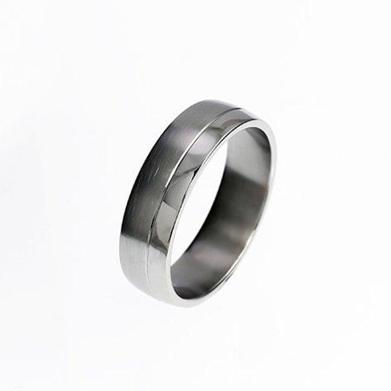 Palladium ring wedding band rings for men mens wedding for Mens palladium wedding rings