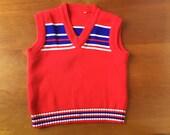 SALE Vintage Sweater Vest (kids)