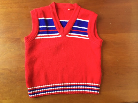 SALE Vintage Sweater Vest (kids)