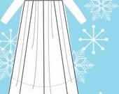 Sewing Pattern: Elsa Train (Children Sizes 3-8)