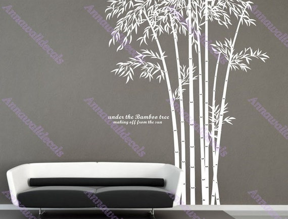 Elegant bamboobamboo wall decalswall decals vinyl wall decal wall . & elegant wall decals 2017 - Grasscloth Wallpaper