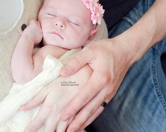 10% off pink headband pink newborn headband baby headband pink