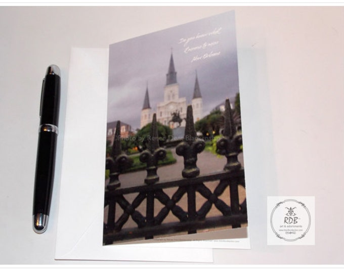 Cathedral Note Cards - New Orleans Stationery