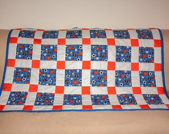 Boy's Toddler Quilt