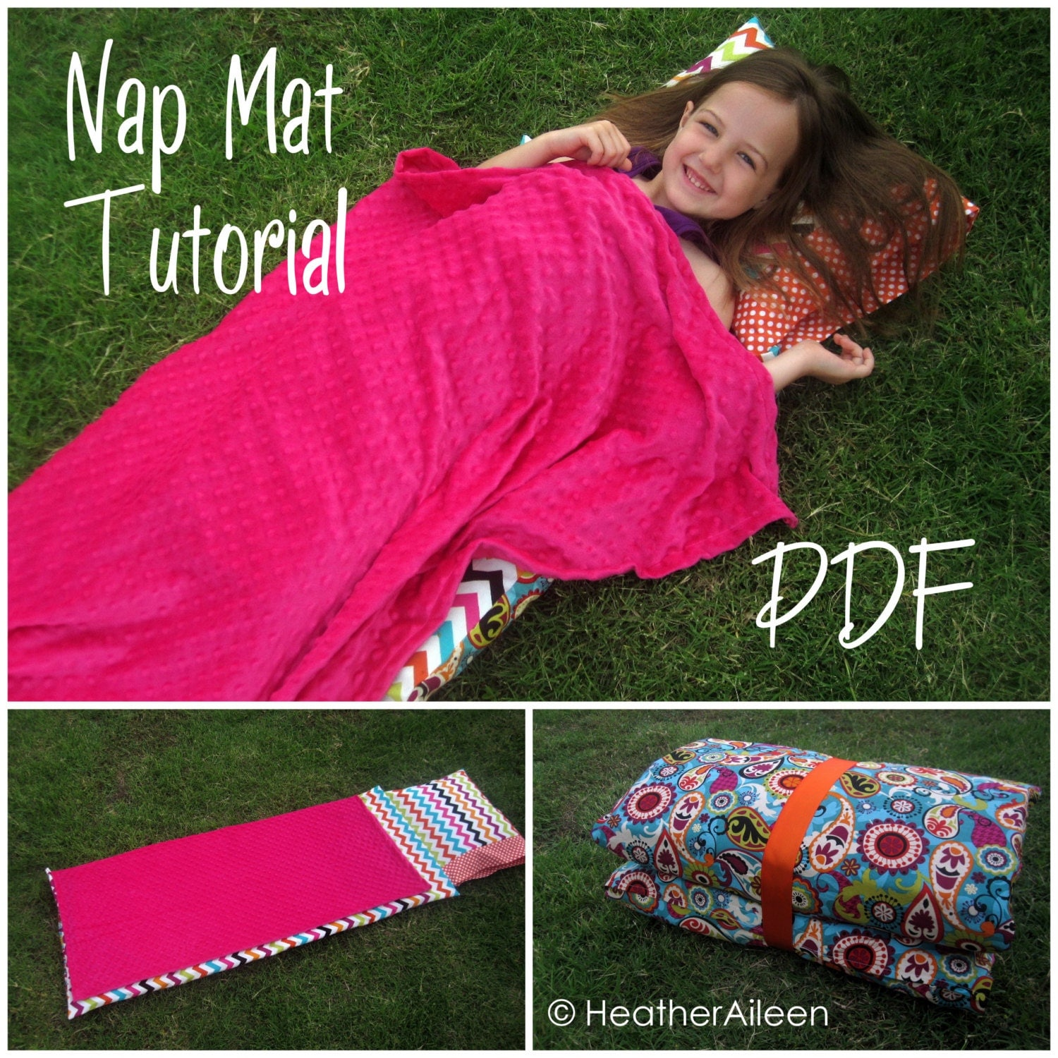 Nap Mat Pdf Tutorial Kindermat Cover Includes Attached
