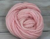Titan - Hand Dyed Thick & Thin Merino Wool Bulky Chunky Yarn - Colorway: Ballet Slipper