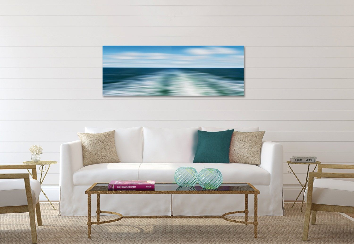 large beach wall decals
