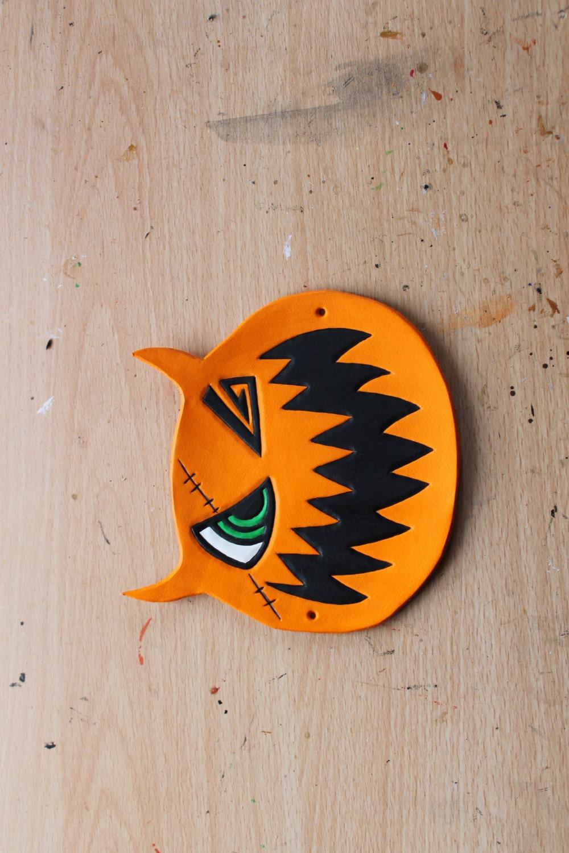 Kingdom Hearts Sora's Halloween Town Pumpkin mask