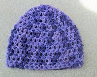 Crochet Preemie Hat, Micro Preemie Hat, NICU Hat, Baby Girl Preemie Hat, Cotton Preemie Hat
