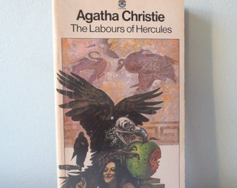 Vintage book Agatha Christie The Labours of Hercules