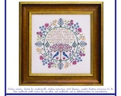 Botanical Blessings (BRD-110) Cross Stitch Design