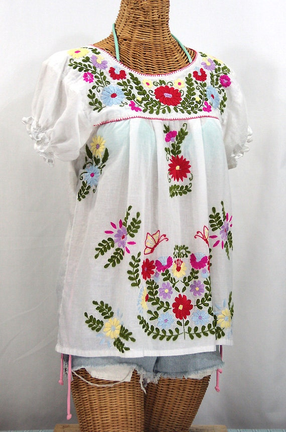 Mexican Ruffled Blouses 13