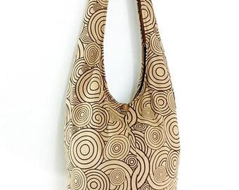 Women bag Handbags Cotton bag Hippie bag Hobo bag Boho bag Shoulder bag Sling bag Messenger bag Tote bag Crossbody bag Purse Beige