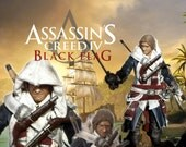 """Assassin's Creed IV - Black Flag Edward Kenway Governor's Outfit 6"""" custom action figure with removable blades, hood, pistols and sword"""