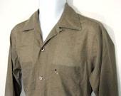 Vintage Arrow Decton Casual Shirt Sz.M 1960's