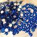 Capri Blue Swarovski Elements Crystals Flatback Non-Hotfix - SS5 to SS20