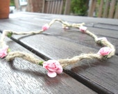 Paper Flower Headbands