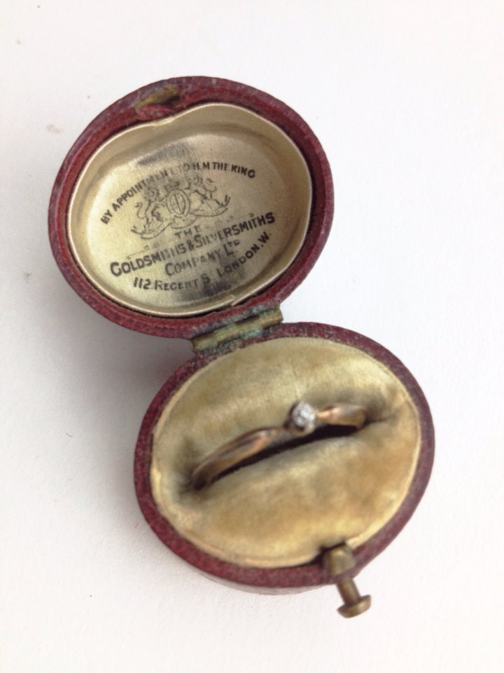 antique ring box for engagement or wedding haute juice