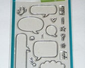 Lawn Fawn Clear Photopolymer Stamp Set - A Birdie Told Me